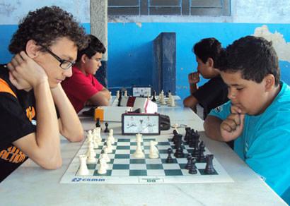 São Domingos é campeão da 1ª Etapa do Campeonato de Xadrez Escolar Regional