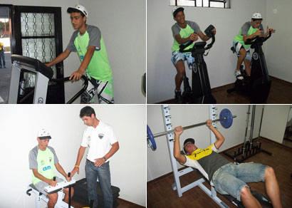 Atletas da base do Araxá já contam com moderna academia