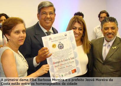 Personalidades são homenageadas em evento de gala em Araxá