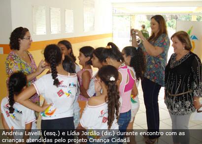 Fundação Abrinq destaca parceria com o Centro de Atendimento à Criança
