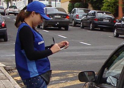 Estacionamento Rotativo está em fase final na contratação de maiores
