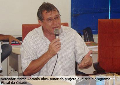 Câmara aprova criação do programa Fiscal da Cidade