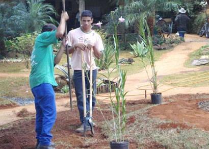 Acordo retoma trabalho do Pequeno Jardineiro em área cedida à maçonaria
