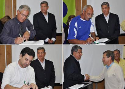 Prefeitura assina 21 convênios que totalizam mais de R$ 5 milhões