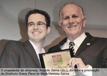 Zema conquista pela nona vez premiações entre as melhores empresas