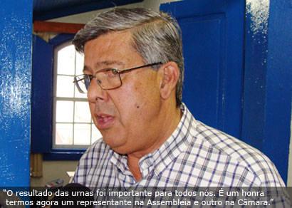 Araxá criou um sentimento de bairrismo político, diz Jeová