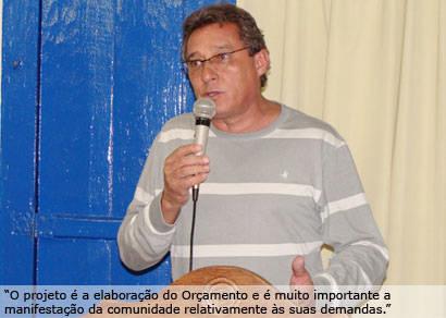 Marco Antonio Rios preside a Comissão Especial do Orçamento Municipal 2011