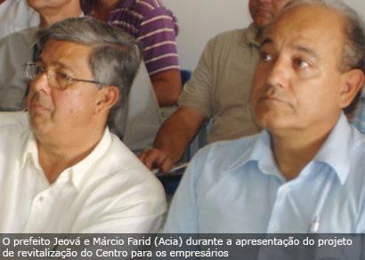Prefeitura e Acia discutem projeto de revitalização do Centro