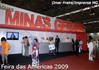 Destino Araxá entre os atrativos de Minas na Feira das Américas