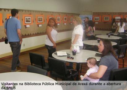 Araxá comemora a Semana Nacional do Livro e da Biblioteca
