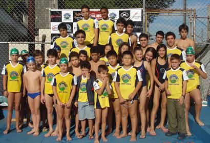 Araxaenses ficam em 1º lugar na 5ª etapa do Regional de Natação
