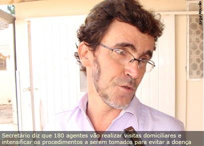 Secretaria Municipal de Saúde prepara mutirão para combate à dengue