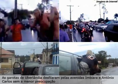 Imagens de atos obscenos em avenidas de Araxá circulam na internet