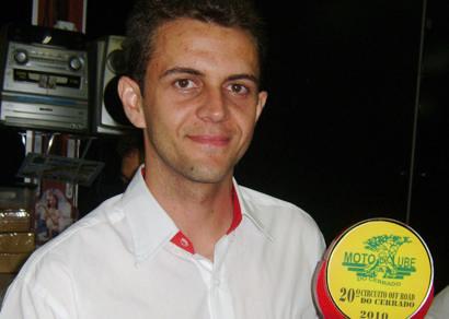 Michel é vice do Circuito de Enduro do Cerrado 2010