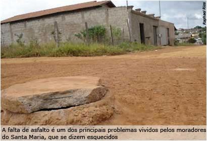 Câmara aprova projeto de asfaltamento do bairro Santa Maria