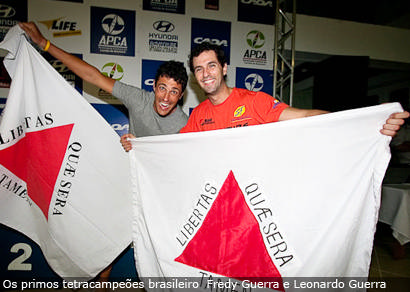 Fredy e Leonardo Guerra conquistam o tetra brasileiro de Corrida de Aventura