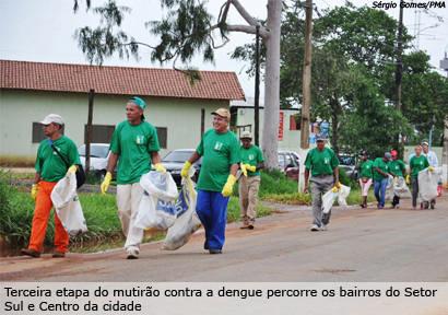 Araxá tem o primeiro caso confirmado de dengue em 2011