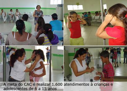 CAC faz doações de óculos pelo projeto Olhar no Futuro