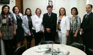 Presidente da Câmara Estadual da Mulher Empreendedora visita Bosco