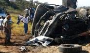 Acidente envolvendo duas carretas na BR-452 mata motorista