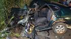 Acidente envolvendo carro e caminhão mata morador de Araxá na BR-262
