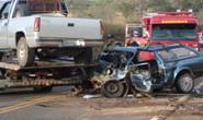 Pai, mãe e filhos morrem em acidente na rodovia Araxá/Tapira