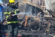 Batida envolvendo sete veículos causa incêndio e interdita 262 por várias horas