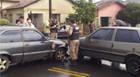 Mais um acidente no cruzamento das ruas Rio Branco e São Cristóvão