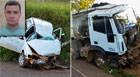 Jovem morre após perder controle em curva e bater em caminhão na MG-235
