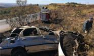 Família fica ferida em acidente na MGC-452