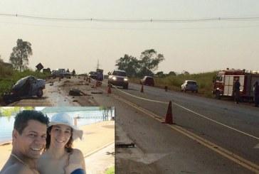 Casal de Araxá morre em acidente na BR-452