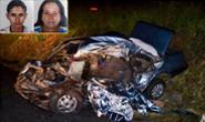 Acidente no trevo de Sacramento mata quatro pessoas da mesma família