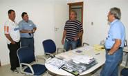 Diretoria do Araxá Esporte visita CBMM e agradece apoio