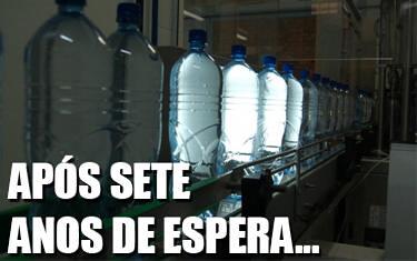Água Mineral Araxá volta a ser comercializada em abril