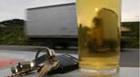 Condutor embriagado provoca acidente com vítimas e danifica viatura policial
