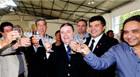 Governador inaugura ETE Central e entrega reforma da envasadora da Água Mineral Araxá