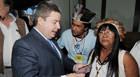 Membros da Andaia se encontram com o Governador