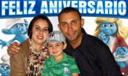 A comemoração dos três aninhos de Luis Felipe