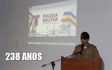 37° BPM comemora 238 anos de Polícia Militar em MG