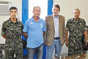 Prefeito Aracely toma posse como presidente da Junta do Serviço Militar