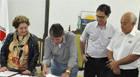 Aracely assina termo de licitação para doação de lotes do Distrito Industrial