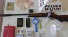 PM de Tapira prende homem por tráfico de drogas