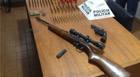 PM prende autor com armas e munições em propriedade rural