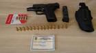 PM prende homem por porte ilegal de arma