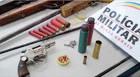 PM prende dois indivíduos que furtaram chácara na MG-428