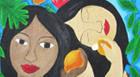 Muros da Escola Armando Santos ganham reprodução de obras de arte