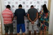 Operação da Polícia Civil prende quatro pessoas em Araxá