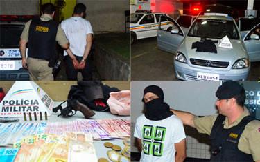 PM prende dupla que estava cometendo uma série de assaltos em Araxá