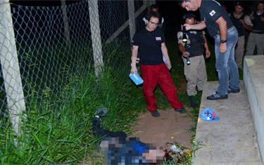 Jovem é encontrado morto no campo do canil