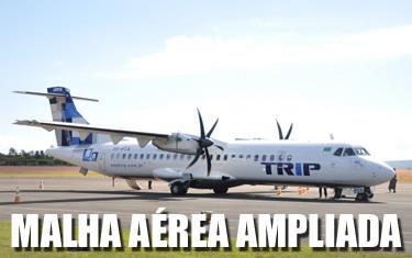 Araxá ganha dois novos voos diários a partir do dia 27
